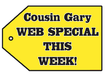 Weekly Advertised Specials - Cousin Gary RV Center