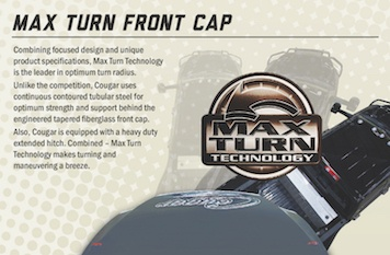 Max Turn Front Cap | Why Choose Cougar | Gousin Gary RV Center